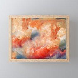 Colorful smoke Framed Mini Art Print