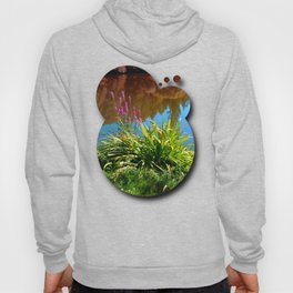 Flowers at the pond Hoody