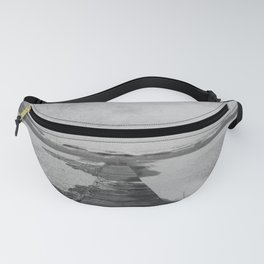 Storm in the beach Fanny Pack