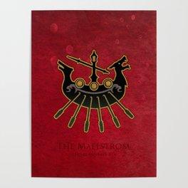 Limsa Lominsa flag - The Maelstrom ( FFXIV) Poster