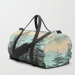 Pine Trees Duffle Bag