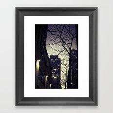 Morning  at 30 Rock Framed Art Print