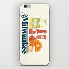 MKE ~ Milwaukee, WI iPhone & iPod Skin