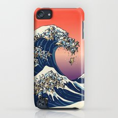 The Great Wave of Pug Slim Case iPod touch