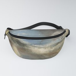 "J.M.W. Turner ""Rockets and Blue Lights (Close at Hand) to Warn Steam Boats of Shoal"" Fanny Pack"