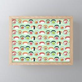 Sushi Lovers Framed Mini Art Print