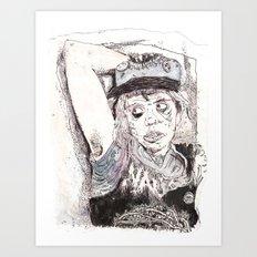 Pitstain. Art Print