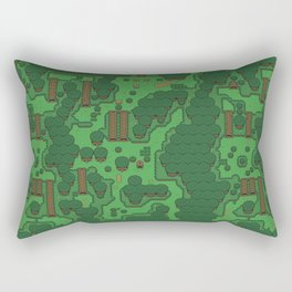 Gamers Have Hearts - The Lost Link Rectangular Pillow