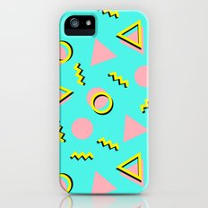 Memphis pattern 61 Slim Case iPhone (5, 5s)