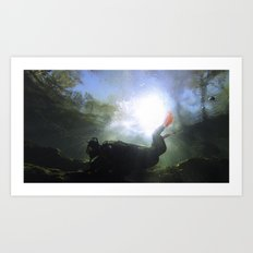 Depths of the Horizon Art Print
