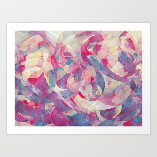 Knowing Glance Art Print