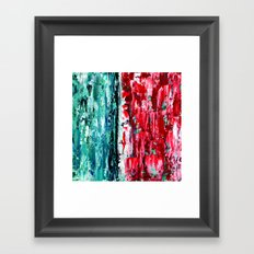 Color Combo #2 Framed Art Print