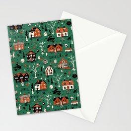Salem Witches Stationery Cards