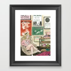 Daisy: The Smiths Fan Framed Art Print