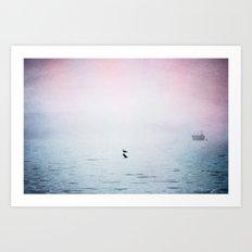 A Moment of Rest - Breathe Art Print