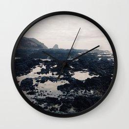 Oregon Coast II Wall Clock