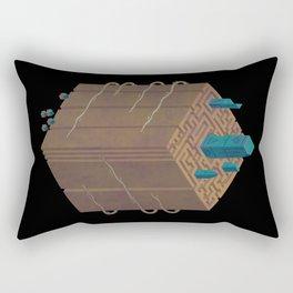 Within the Maze Rectangular Pillow