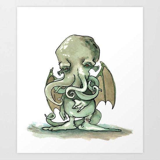Cthulhu Mythos Art Print