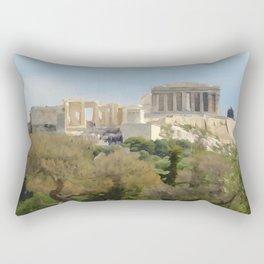 The Acropolis Rectangular Pillow
