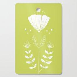 Folky Flower Cutting Board
