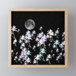 Tropical night Framed Mini Art Print