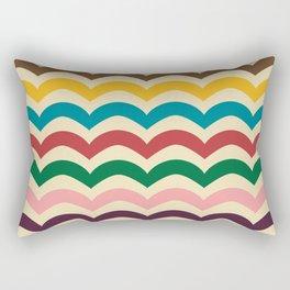 sweet summer waves Rectangular Pillow
