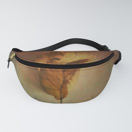 Lonely Autumn Leaf Fanny Pack