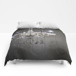 chandelier in NYC Comforters