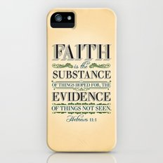 The Substance of Things Hoped for . . . iPhone (5, 5s) Slim Case