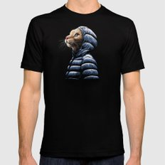 COOL CAT Black X-LARGE Mens Fitted Tee