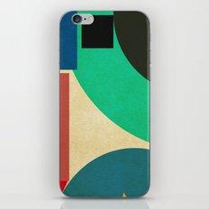 geometric mess iPhone & iPod Skin