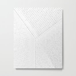 Lines Art Metal Print