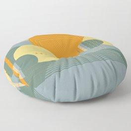 Geo Party #1 Floor Pillow