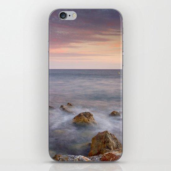 Pink seasunset iPhone & iPod Skin