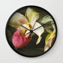 Lady's Slipper Wall Clock