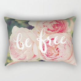 be free Rectangular Pillow