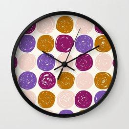 Geo Circles Wall Clock