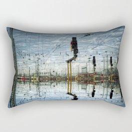 Leica Train Rectangular Pillow