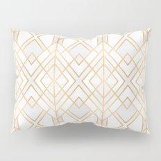 Golden Geo Pillow Sham