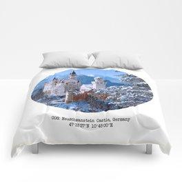 008: Neuschwanstein Castle Comforters