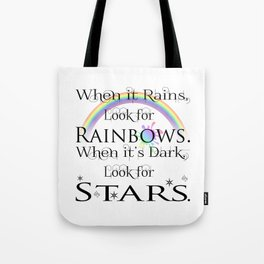When it Rains... Tote Bag