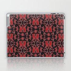 Red & Black Slavic Patterns Laptop & iPad Skin