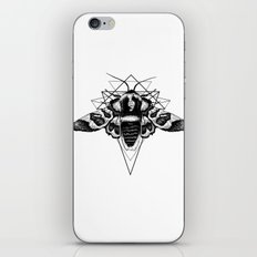 Geometric Moth iPhone & iPod Skin