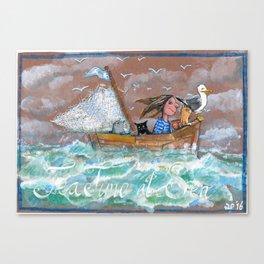 Tea Time at Sea Canvas Print