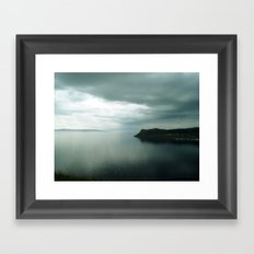 harbor. Framed Art Print