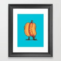 Flash Food Framed Art Print