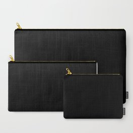 Hello Gorgeous - Black and White Type Carry-All Pouch