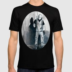 We Shouldn't Have Let Him Watch All Those Giallo Movies When He Was Little MEDIUM Mens Fitted Tee Black