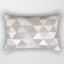 triangle norwegian art Rectangular Pillow