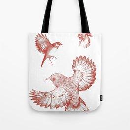 A beat of wings Tote Bag